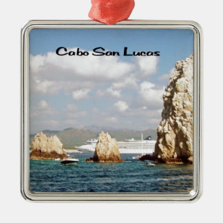 The point at Cabo San Lucas Metal Ornament
