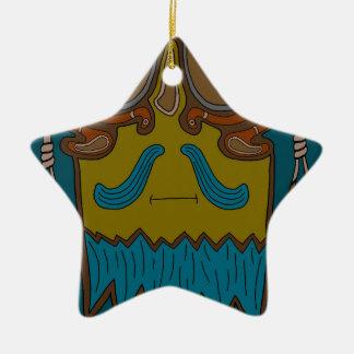 The Poisoner's Gallows God Ceramic Ornament