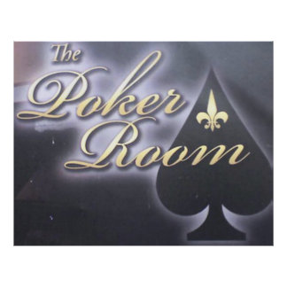 The Poker Room Poster