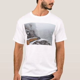 The Polar Express Rounds the Bend T-Shirt