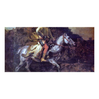 The Polish Rider. By Rembrandt Van Rijn Photo Card