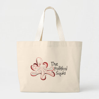 The Political Squid Merchandise Tote Bag