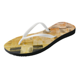 The Polynesian Checker Thongs