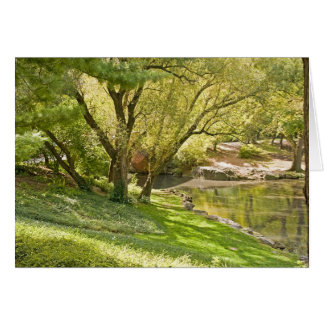 The Pond - Central Park NYC Card