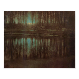 The Pond Moonlight Poster