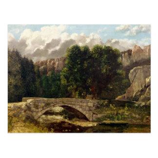 The Pont de Fleurie, Switzerland, 1873 Postcard