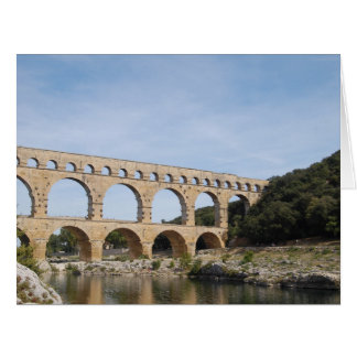 The Pont Du Gard, France Card