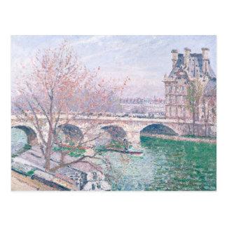 The Pont-Royal and the Pavillon de Flore Postcard
