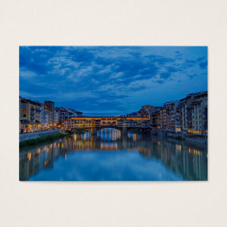 The Ponte Vecchio in Florence Business Card