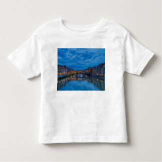 The Ponte Vecchio in Florence Toddler T-Shirt