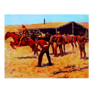 The Pony Express Post Card