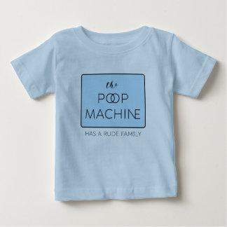 The Poop Machine Has a Rude Family Blue Tshirt