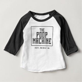 The Poop Machine with Birth Date Tshirts