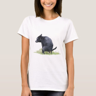 The Pooping Dog Ponders T-Shirt