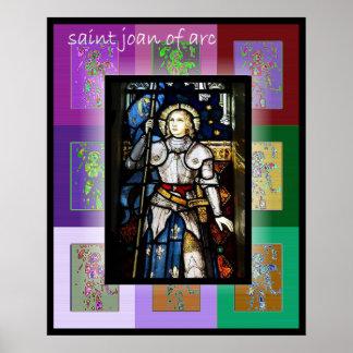 The Pop Art Saint Joan of Arc 2 Poster