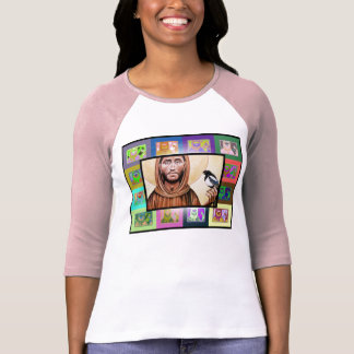 The Pop Art St Francis of Assisi T-shirt
