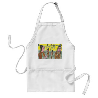 The Pope Likes Me Best! Standard Apron