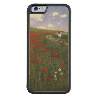 The Poppy Field Carved® Maple iPhone 6 Bumper