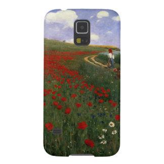 The Poppy Field Galaxy S5 Case