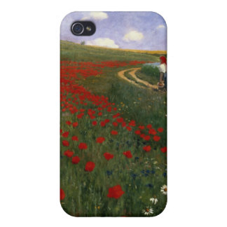 The Poppy Field iPhone 4 Covers