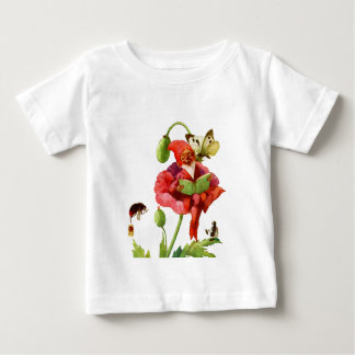 The Poppy Gnome Baby T-Shirt