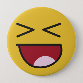 The popular LOL emoji 10 Cm Round Badge