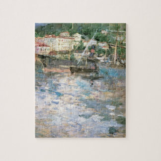 The Port, Nice by Berthe Morisot, Vintage Fine Art Jigsaw Puzzle