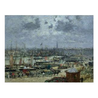 The Port of Bordeaux, 1874 Postcard