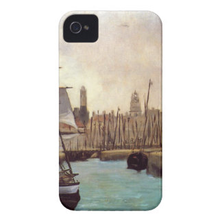 The Port of Bordeaux by Edouard Manet iPhone 4 Case-Mate Case