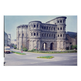 The Porta Nigra, 4th century Poster