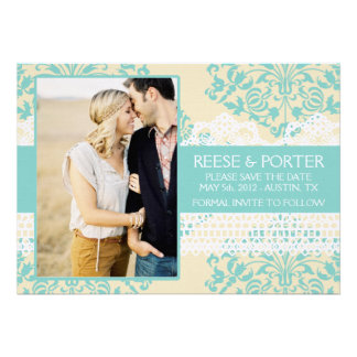 THE PORTER save the date photo announcement