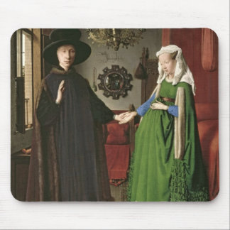 The Portrait of Giovanni Arnolfini Mouse Pad
