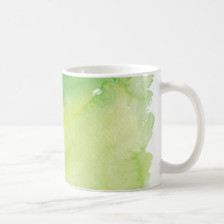 The Possibilities are Endless Green Watercolor Mug
