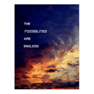 The Possibilities Are Endless Postcard