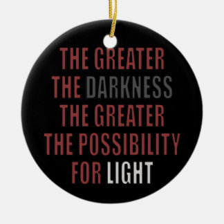The Possibility for Light Christmas Tree Ornament