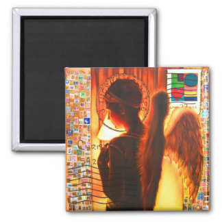 THE POST ANGEL SQUARE MAGNET
