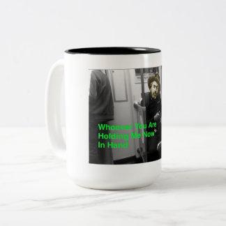 The Post-Digital Walt Whitman Coffee Mug