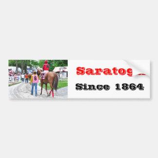 The Post Parade at Saratoga Bumper Sticker