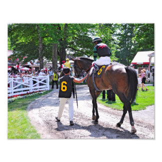 The Post Parade at Saratoga Photographic Print