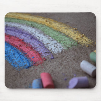 The Pot of Gold at the End of the Rainbow, Chalk Mouse Pad