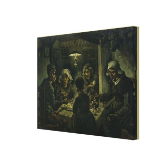 The Potato Eaters by Vincent Van Gogh Canvas Print