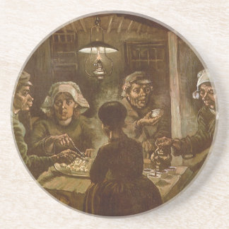 The Potato Eaters by Vincent van Gogh Beverage Coasters