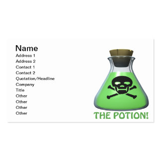 The Potion Pack Of Standard Business Cards