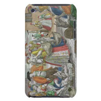 The Poultry Market coloured engraving Barely There iPod Cover