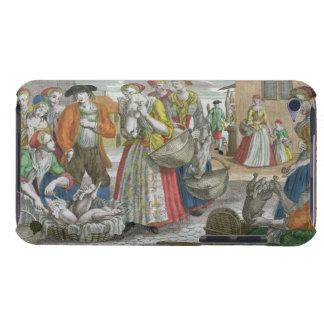 The Poultry Market (coloured engraving) iPod Case-Mate Case