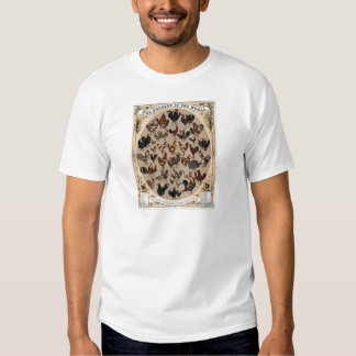 The poultry of the world t shirts