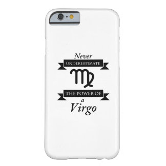 The Power Of A Virgo Symbol Zodiac Birthday Gift Barely There iPhone 6 Case