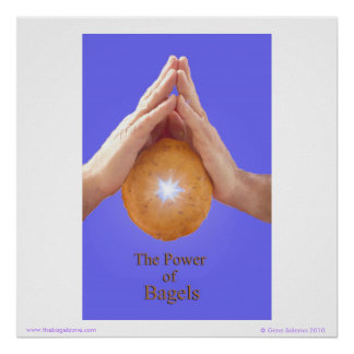 The Power of Bagels Poster