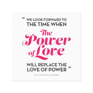 The Power of Love Canvas Print