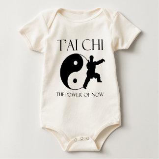 The power of now baby bodysuit